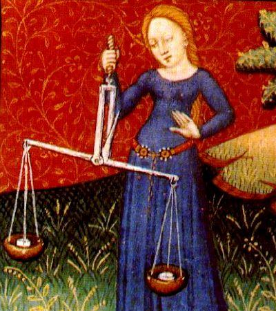 Libra 15th century