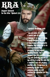 King Richard Armitage by Alfie