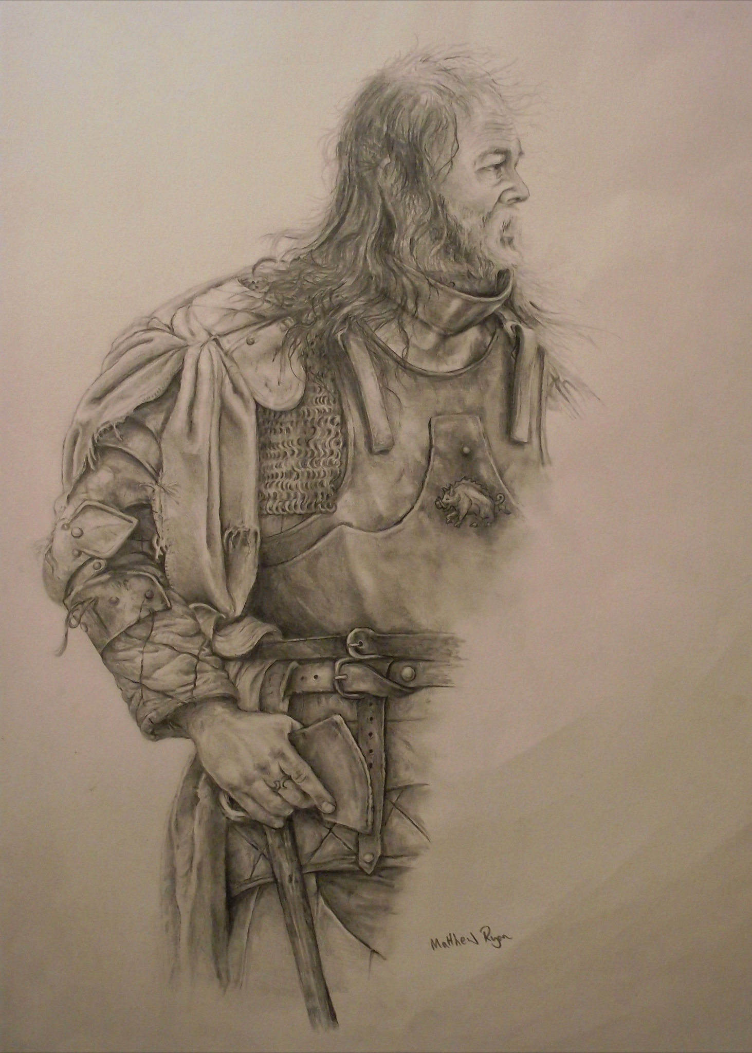King Richard III's man at the Battle of Bosworth