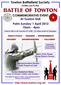 Towton Battlefield Society 2012