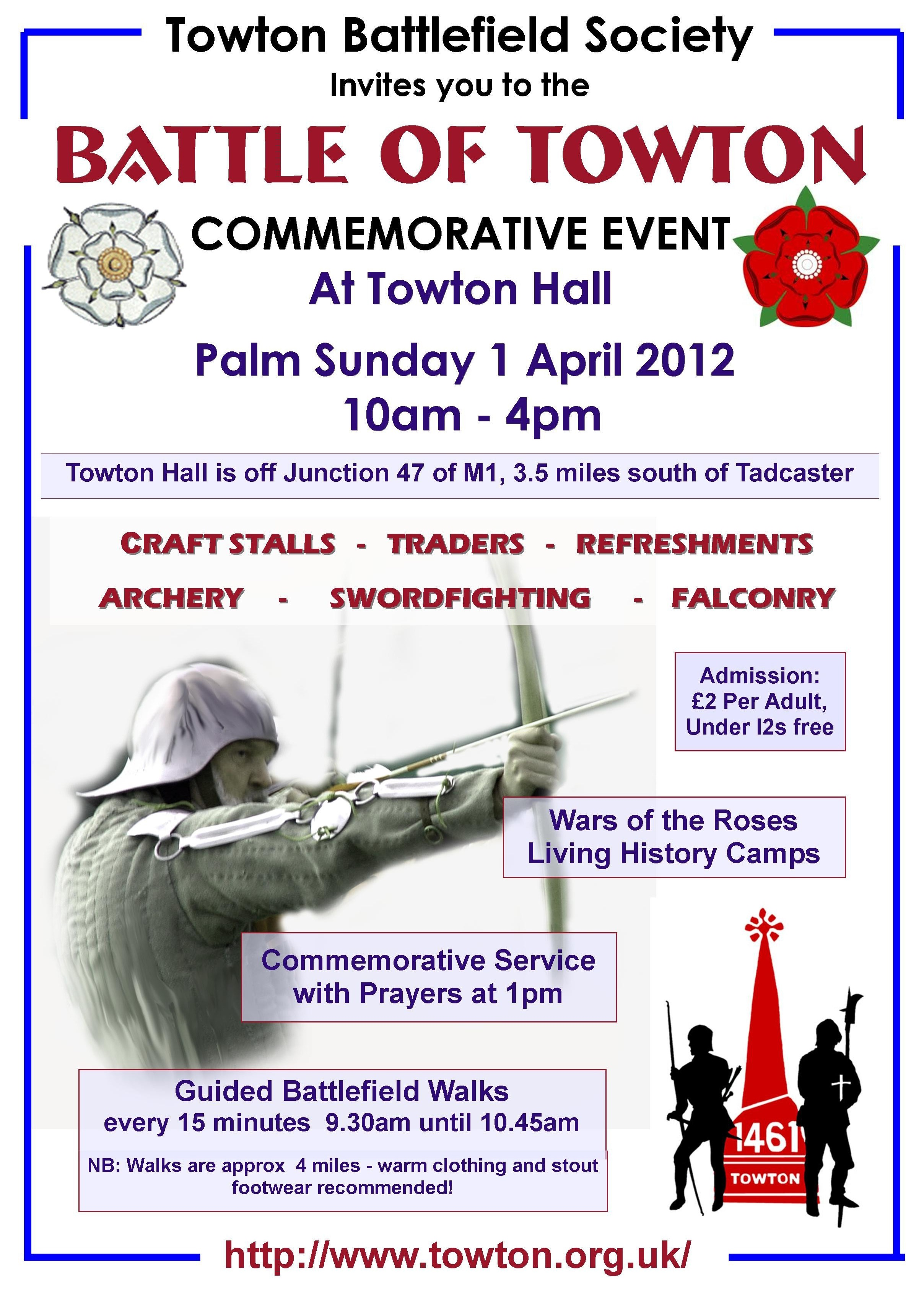 Towton Battlefield Society 2012