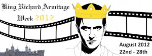 King Richard Armitage Week 2012 Banner