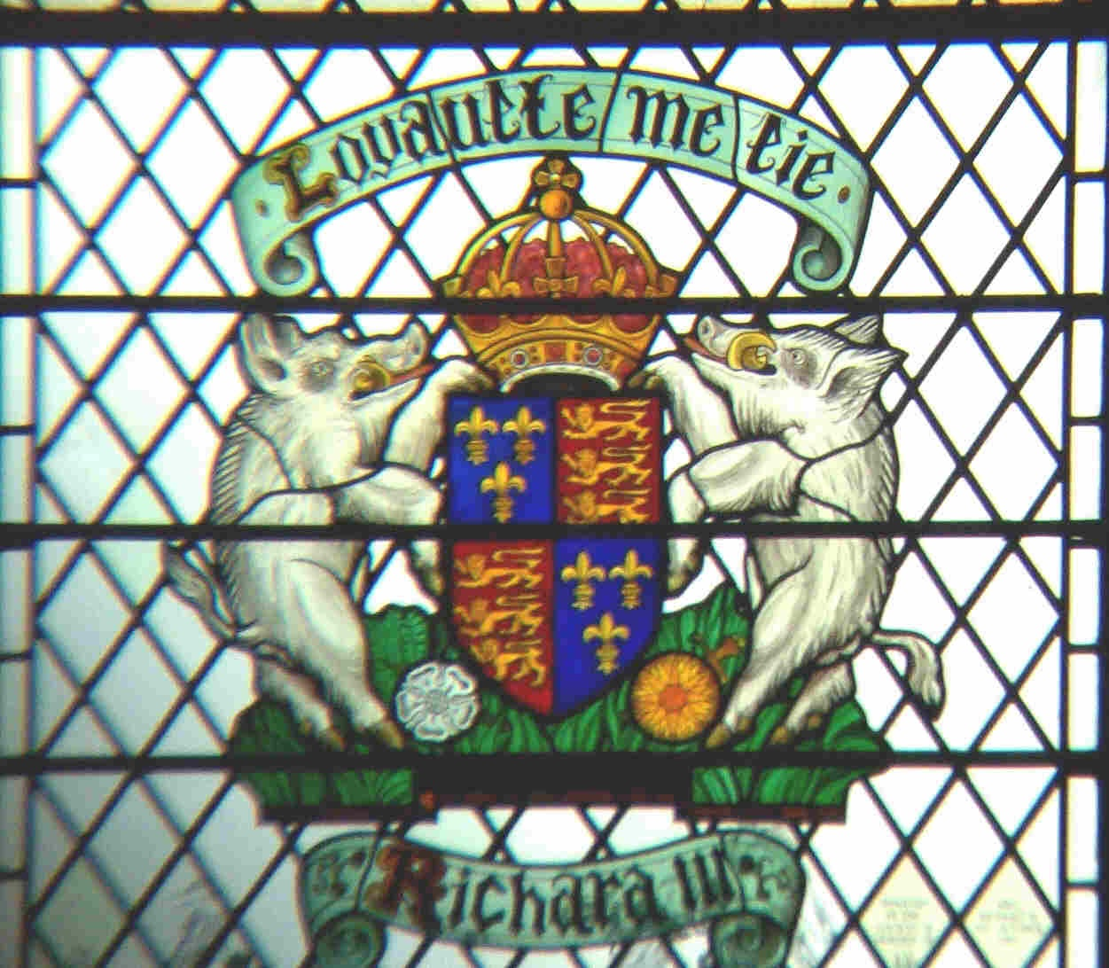 Window in the York Minster