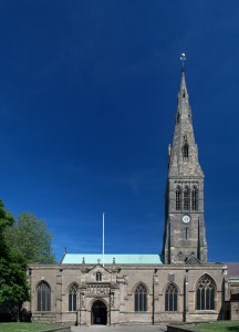 Leicester Cathedral (Source: Wikipedia, NotFromUtrecht)