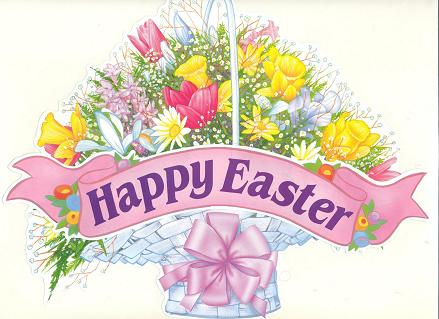 Happy Easter image from Glitter-Graphics.com
