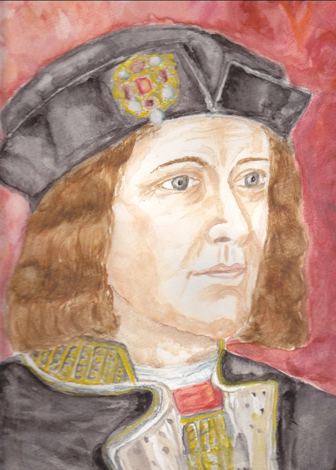 King Richard III - Portrait by LDixon157
