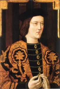Edward IV. Portrait early 16th century (Source: Society of Antiquaries - Wikipedia)