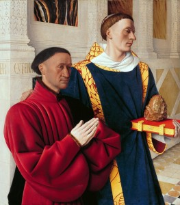 Hans Fouquet, the Melun Dipptych, c. 1452 (Source: Wikipedia)