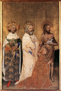 Wilton Diptych (Source: National Portrait Gallery, London - Wikipedia)